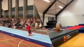 Gymnastik er farligt! Ny Crash & Fail Video fra 2020